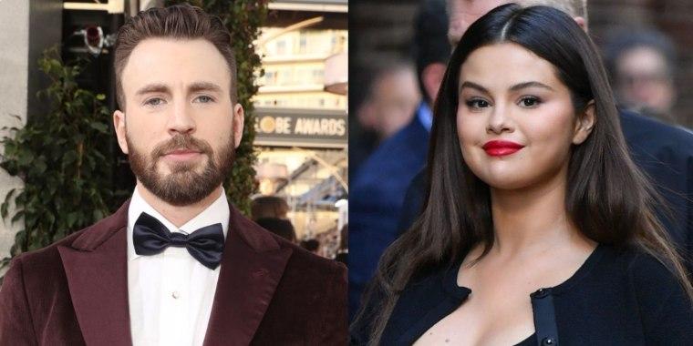Chris Evans en los premios Golden Globe y Selena Gomez en New York City