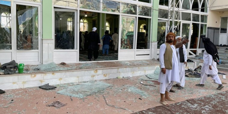 At least 30 killed in Afghanistan mosque blast