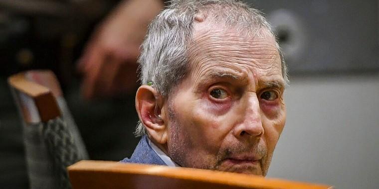 Robert Durst durante el juicio en su contra por asesinato en Los Ángeles