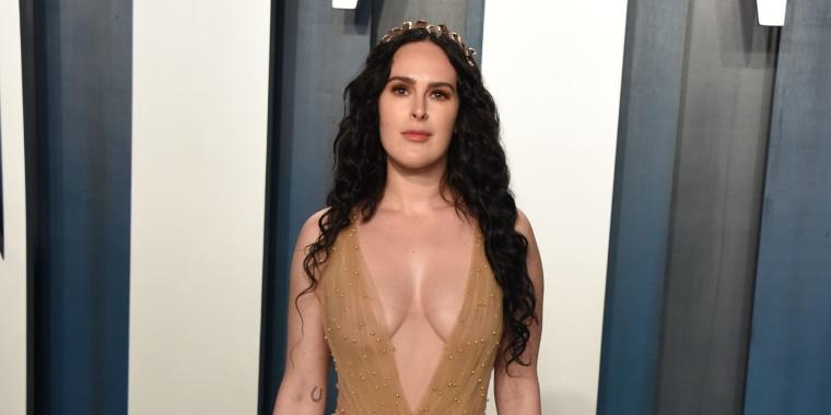 Rumer Willis en la fiesta del Oscar de Vanity Fair 2020
