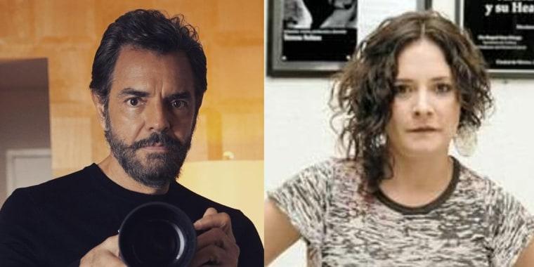 Eugenio Derbez y Sylvia Eugenia Derbez