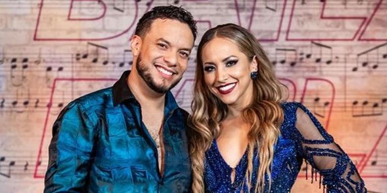 Lorenzo Méndez y Jessica Díaz en 'Así Se Baila'