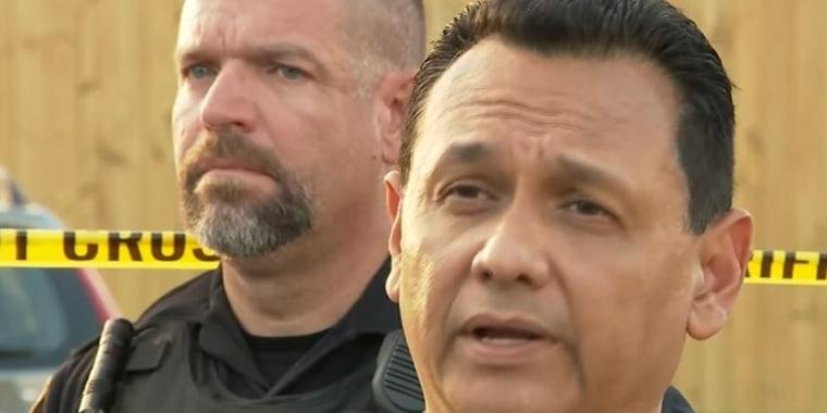 """El Sheriff del condado de Harris, Ed Gonzalez, describió la situación como """"desgarradora""""."""