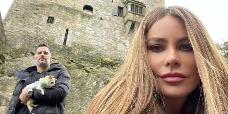 Sofía Vergara y Joe Manganiello en Irlanda