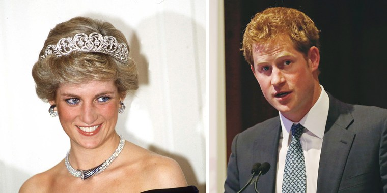 Prince Harry is supporting a charity his mother Princess Diana worked closely with.