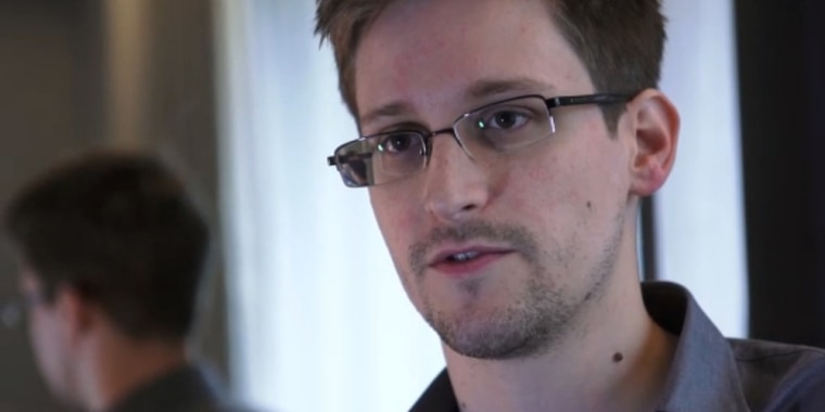 A still frame grab recorded on June 6, 2013 and released to AFP on June 10, 2013 shows Edward Snowden speaking during an interview with The Guardian newspaper at an undisclosed location in Hong Kong.