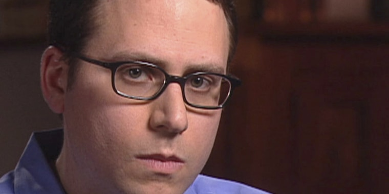 Stephen Glass, former writer for The New Republic, is seen in this video  frame