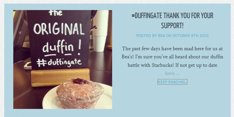 British bakery Bea's of Bloomsbury is thanking customers for their support during