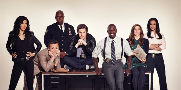 """""""Brooklyn Nine-Nine"""" is Fox's new comedy starring Andy Samberg and Andre Braugher."""