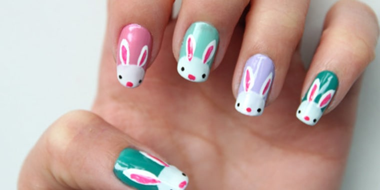 Eggs 10 D I Y Easter Nail Art Designs
