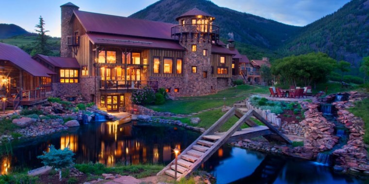 This 11,729-square-foot luxury home is in high-end Mountain Village just a few miles outside Telluride.