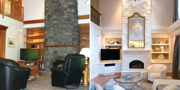 Living room makeovers: Interior designers share before-and-after ...