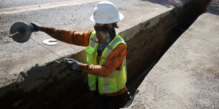 Image: Biden Administration Pushes Infrastructure Bill Costing Over $2 Trillion