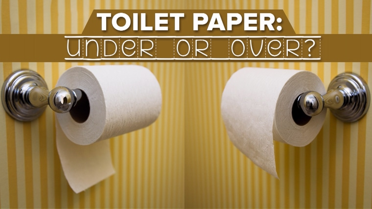 Toilet Paper Over Or Under Debate Resolved Via 1891 Patent