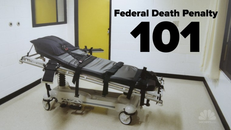 who is on federal death row
