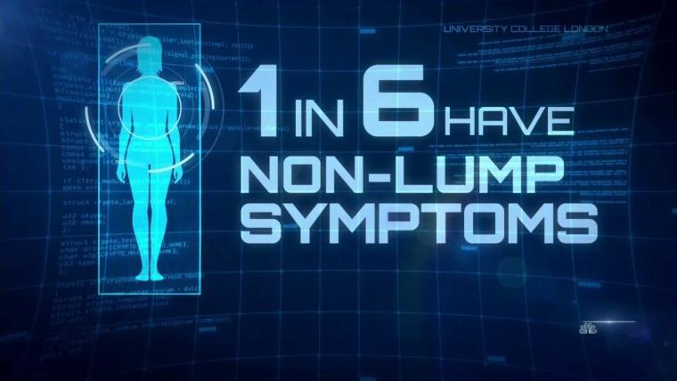 Nbc S Kristen Dahlgren Shares The Unusual Breast Cancer Symptom