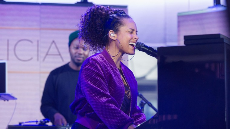 Watch Alicia Keys Perform Work On It From New Album Here Live On Today