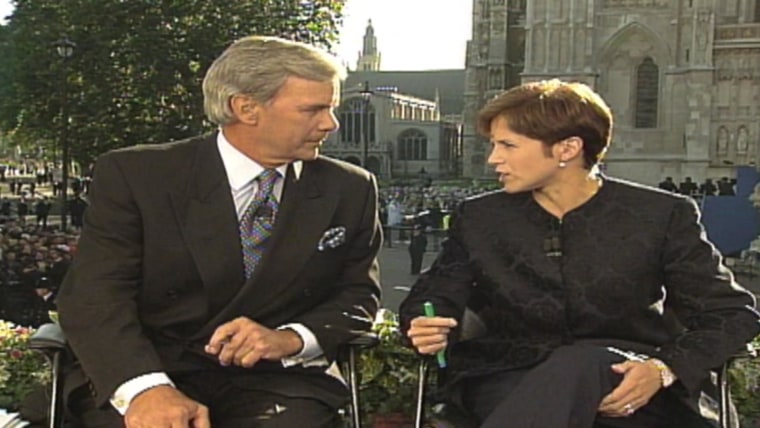 katie couric recalls covering princess diana s death tears streamed down my face katie couric recalls covering princess
