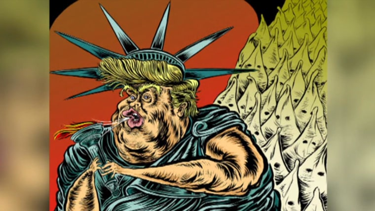 Cartoonists Discuss Political Satire In The Donald Trump Era