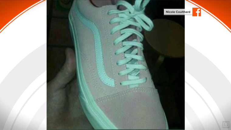 debate over the color of these sneakers