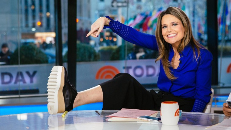 Savannah Guthrie On Her Beauty Routine And Approach To Wrinkles