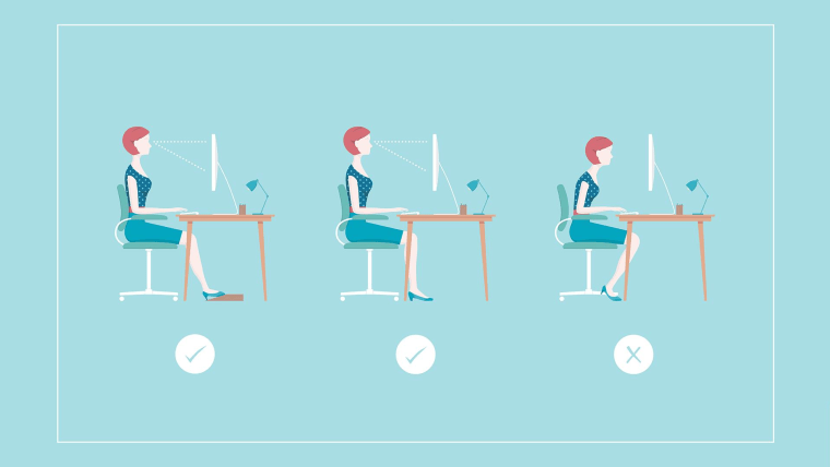 Sit All Day Try These Desk Stretches To Loosen Your Hips