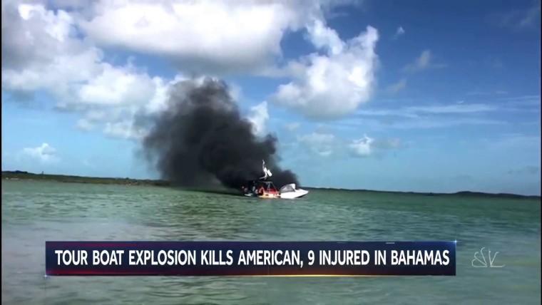 Un bateau explose aux Bahamas, faisant 1 mort et 9 blessés