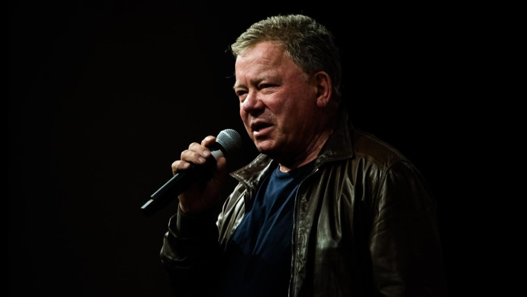 William Shatner on his RT show Billionaire Space Race and Mortality