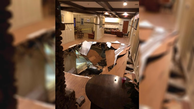 Floor collapses at party in South