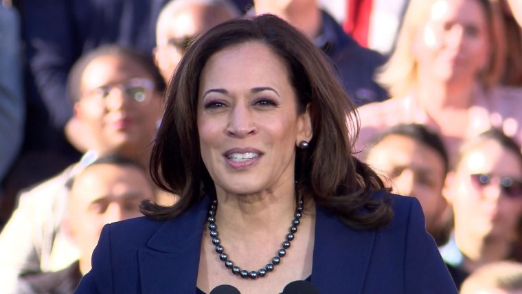 Senator Kamala Harris Kicks Off Presidential Campaign At Oakland California Rally