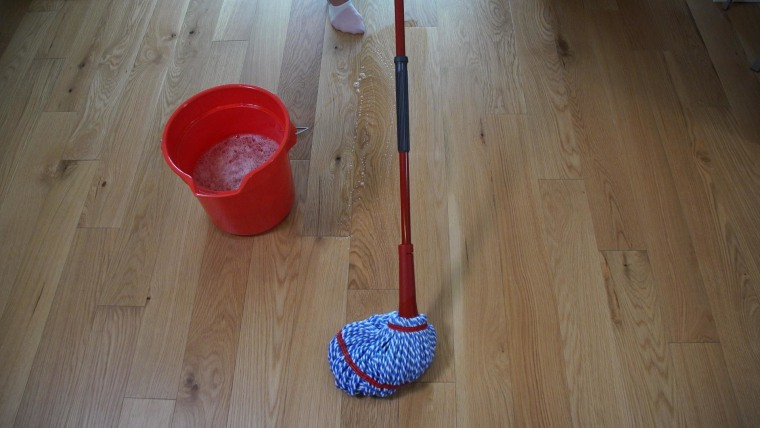 How to clean hardwood floors the right way