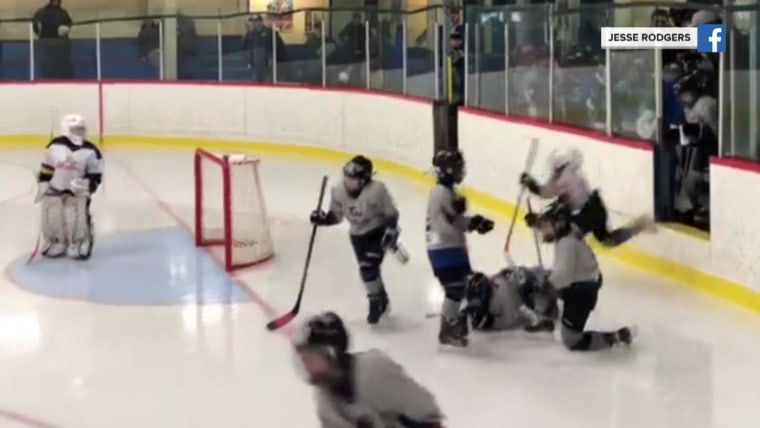 Kids Falling On Ice Before Hockey Game And More Highs And Lows