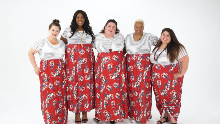 Women Try On Bold Prints And Break Plus Size Fashion Rules