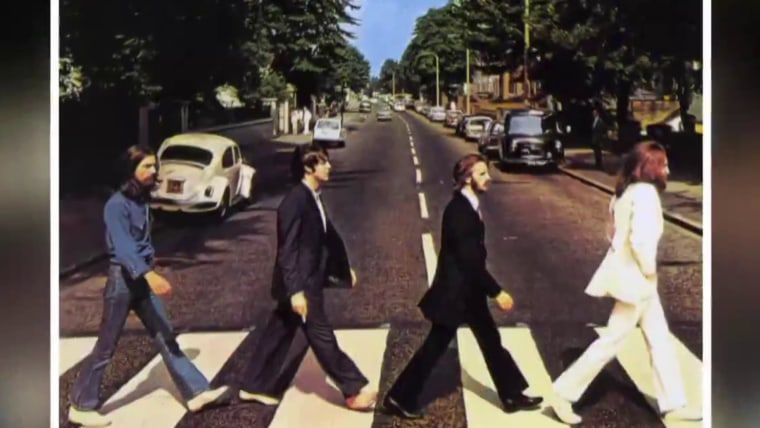 Beatles Fans Recreate Iconic Abbey Road Album Cover 50 Years On