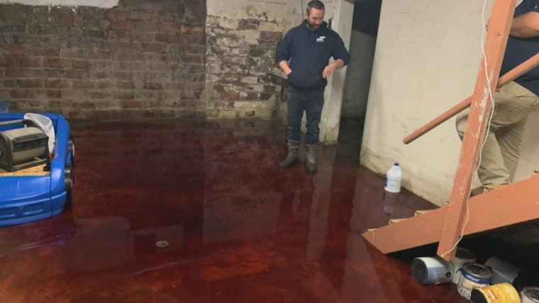 Iowa Family S Basement Flooded With Animal Blood From Neighboring