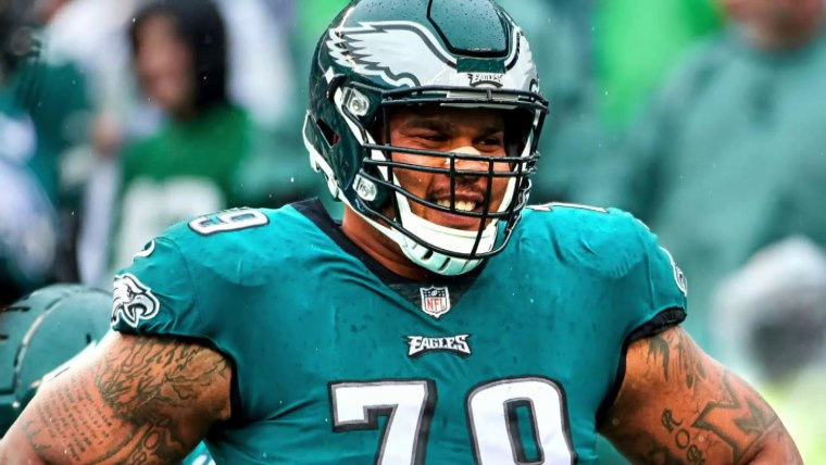 Brandon Brooks Of The Philadelphia Eagles Couldn T Play Due To Bout With Anxiety