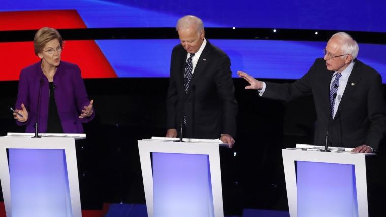 Who won the Democratic debate in Iowa? 1