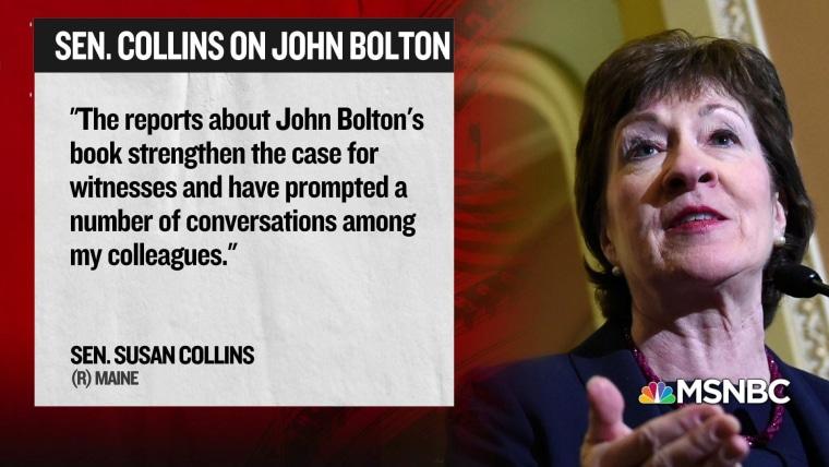 Bolton pits President Donald Trump against Senate GOP's majority