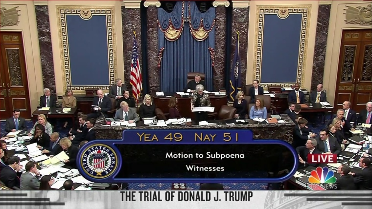 Image result for images of Senate Trial 51 vs 49""