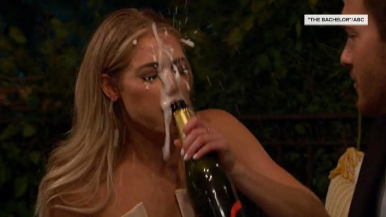 This 'Bachelor' contestant's Champagne surprise went horribly wrong