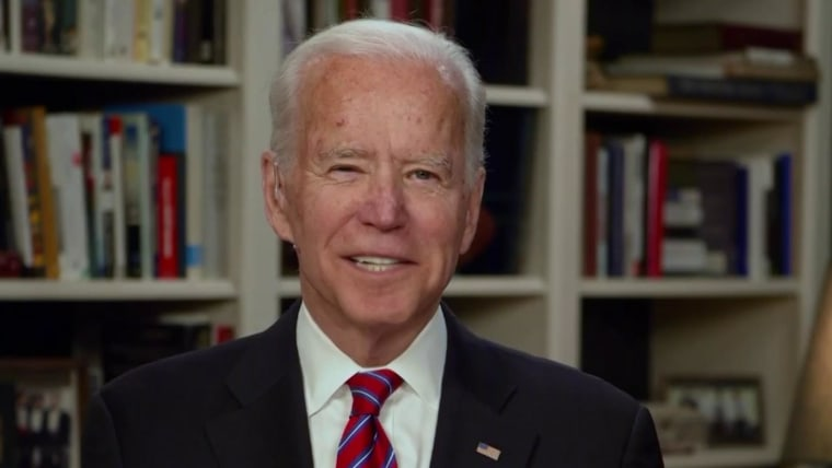 Biden debuts podcast in his virtual campaign for president - NBC News