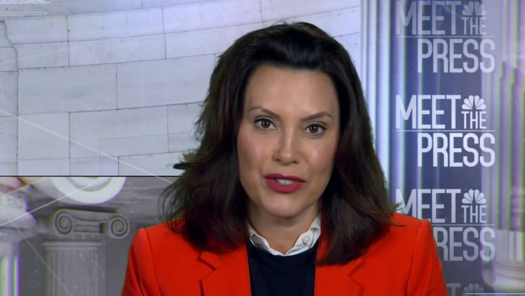 That Woman From Michigan Gov Whitmer Stands Out In The Pandemic Just Ask Trump