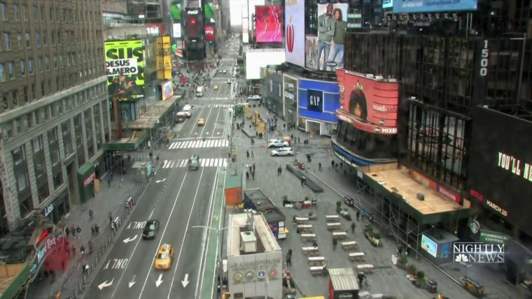 New York Mayor Says Shelter In Place Decision Coming In Next 48 Hours