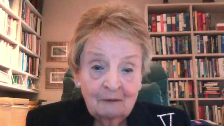 Madeleine Albright on Trump's immigration order: 'The Statue of ...