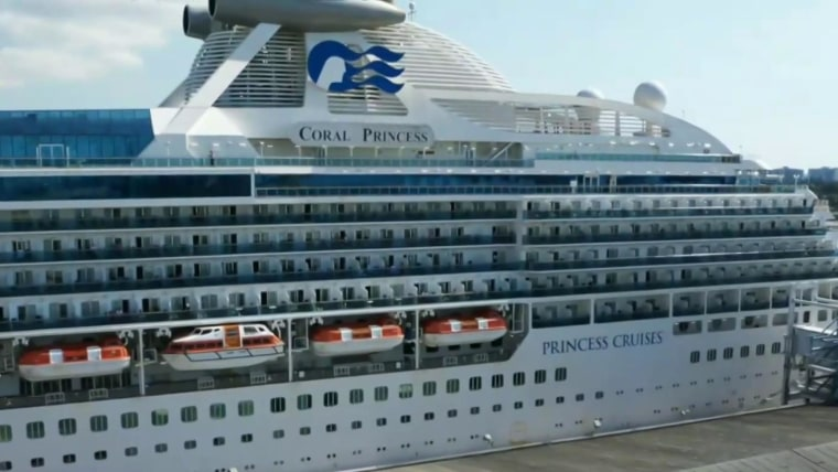 2 passengers die aboard Coral Princess cruise ship docked ...