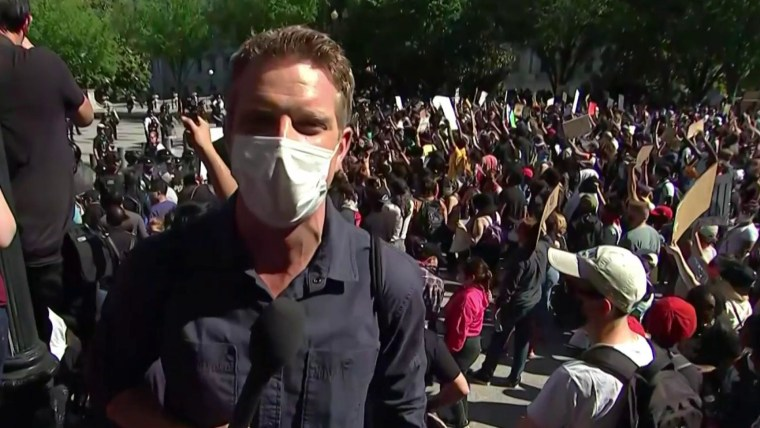New protests emerge across U.S. only hours after violence rocked cities around the country