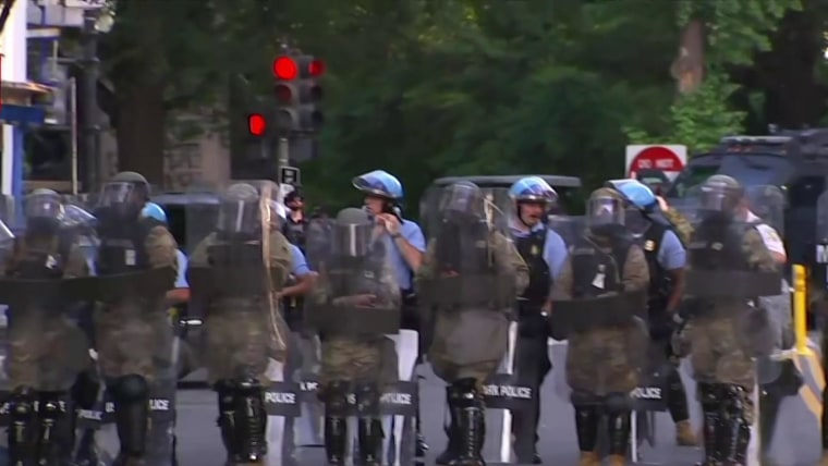 Police did not clear DC's Lafayette Park of protesters so Trump could set up photo op, new report says