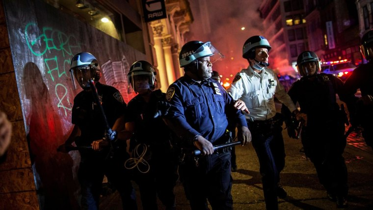NYPD commissioner 'troubled' by video of cop cars driving into protesters