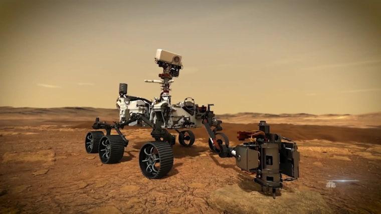 """Марсохід """"Perseverance"""" від НАСА висадиться на Марсі (18 лютого)"""