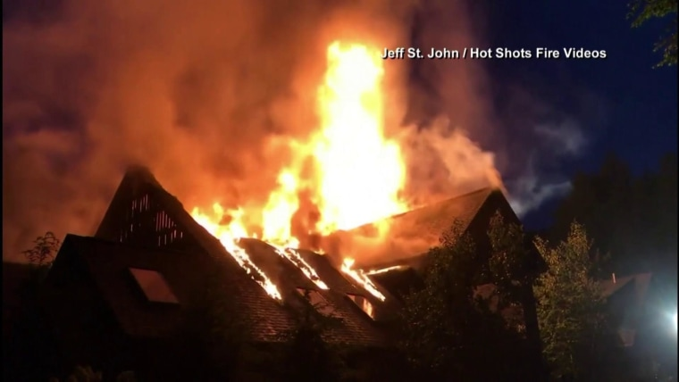 Massive fire that tore through Rachael Ray's New York home ...Rachael Ray House Fire Today